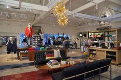 Tommy Hilfiger flagship store, Los Angeles store design