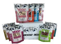 Sorteo de 12 Snacks para perro y una camiseta de Woolf