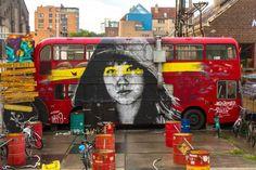 Nils Westergard street art in Richmond.