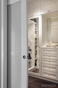 perforated wardrobe door