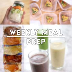 Here's a bunch of weekly meal prep recipes for a gluten free, low FODMAP and dairy free diet. Breakfast, lunch and dinner sorted.