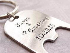 This listing is for 100 Personalized Bottle Openers with names, dates, or words of your choice. In the last picture you will see a list of fonts