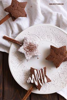 cinnamon brownie stars
