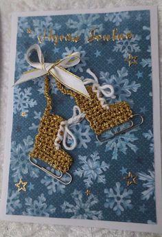 Joulukortteja :: Elisedesign-and-bake Christmas Labels, Christmas Love, Christmas Wishes, Diy Christmas Gifts, Diy And Crafts, Paper Crafts, Christmas Planning, Merry Xmas, Diy Cards