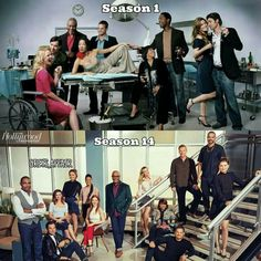 Greys's Anatomy. So many years and seasons gone but i still love this show, even without my favorite characters Derek and Christina.