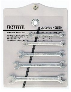 ENGINEER / MINI OPEN END SPANNER 5 PIECES SET / TS-01 / MADE IN JAPAN #ENGINEER