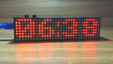 Arduino Real Time Led Matrix Clock with 12 Hour format (with tutorial included) Arduino Wireless, Arduino Led, Arduino Programming, Simple Arduino Projects, Led Projects, Hobby Electronics, Electronics Projects, Real Time Clock, Led Diy