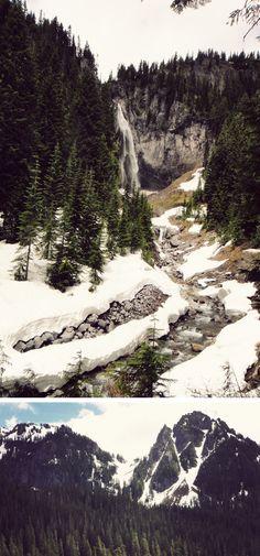 Cougar Rock, Mt Rainier