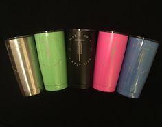 Mountain Bike Radio - Simply Ride Stainless Steel Double Wall Mug (20 oz - Colors)