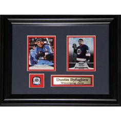 Midway Dustin Byfuglien Winnipeg Jets 2-card Frame