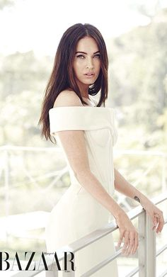 Megan Fox for April 2015 Harper's Bazaar Magazine