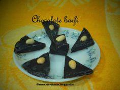 Remmy's Kitchen: chocolate burfi