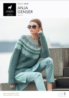 Søkeresultater for «Anja genser Jumper Patterns, Knit Patterns, Knitting Machine Patterns, Icelandic Sweaters, Fair Isle Knitting, Knitting Designs, Diy Clothes, Knitwear, Knit Crochet