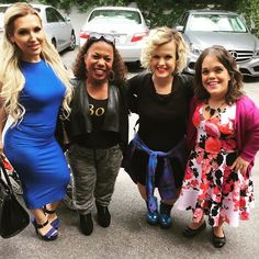 Elena, Tonya, Terra and Traci Little Women LA