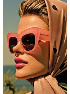 e62e07f79f1 Warm up your look with hair and makeup inspired by the beachy bombshells of  the  . Ray Ban SunglassesPink ...