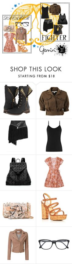 """I'm a gemini"" by jomax ❤ liked on Polyvore featuring Steve Madden, Veronica Beard, Dsquared2, Reiss, Bao Bao by Issey Miyake, Chanel, MICHAEL Michael Kors, IRO, Roberto Cavalli and gemini"