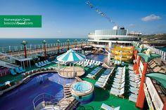 #Norwegian #Gem Tahitian Pool #Travel #Cruise #NCL