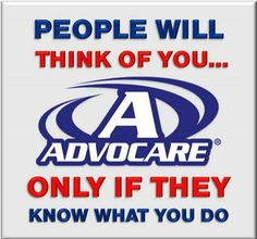 Share all the joys of AdvoCare - helping people with great products AND business opportunities.
