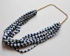 Fabric neklace
