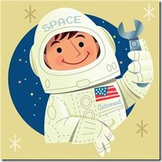 includes a fun astronaut rhyme (plus the site has lots of great ideas)