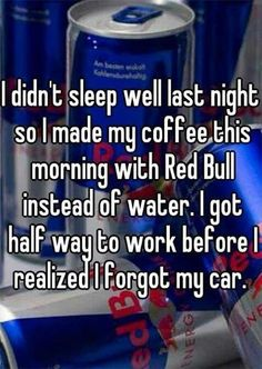 It Is Not A Bad Idea Of Making Coffee With Red Bull.