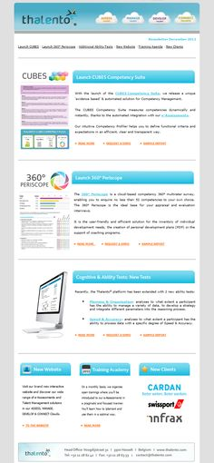 Festive Newsletter u2013 Attractive Holiday email template   - example of a news letter