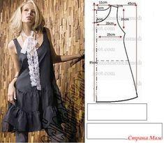 Интересные модели и простые выкройки - 4 - Из ученицы - в профессионалы шитья. - Страна Мам