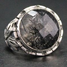 Unique Silver Jewelry for Men | Unique Mens Rings Sterling silver unique handmade men's ring by ...
