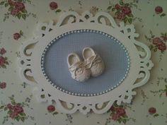 Quadrinho para porta de maternidade | Atelier Vó Nitota | 2C1CAA - Elo7