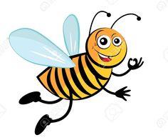 Bee. Roztomilé Kreslené Včely. Royalty Free Kliparty, Vektory A Ilustrace. Image 18683233.