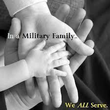 In a military family, we all serve