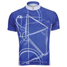 Primal Wear Bike Print Jersey (size Medium)