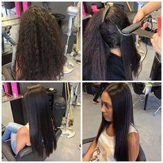 Yuko Japanese Hair Straightening - Beginning to End.