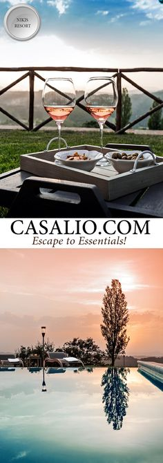 www.casalio.com || NIkis Resort || Italy - Umbria || Located on the hills to the…