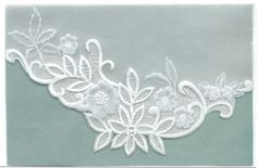 Delicate Lace on Parchment made by Martha Levesque