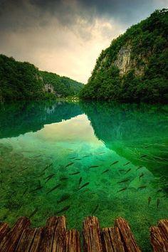 Green Lake, Plitvice, Croatia