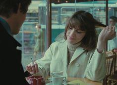 ZouZou (Danièle Jacqueline Élisa Ciarlet) in Eric Rohmer's 1972 film 'L'Amour l'après-midi '