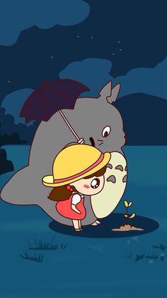 Tonari no Totoro Studio Ghibli Art, Studio Ghibli Movies, Hayao Miyazaki, Chat Bus, Geeks, Totoro Merchandise, Chibi, Manga Anime, Anime Art