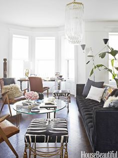 Nate Berkus living room.  home decor and interior decorating ideas.