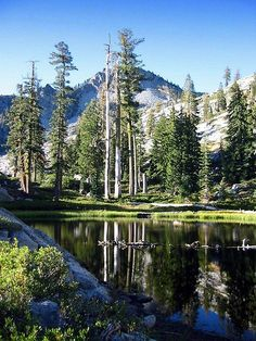 Lost Lake -- Trinity Alps
