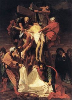 Descent of Jesus from the Cross, Jean-Baptiste Jouvenet | remembering the price on Good Friday