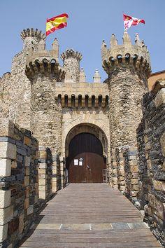 Ponferrada Castle, Spain