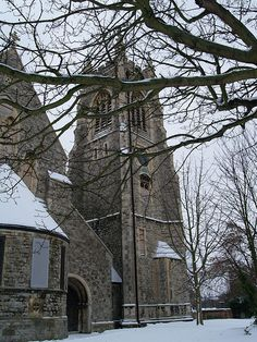 I went there and took photos but didn't realise it was called St. Mary's church in Chatham Kent, England.
