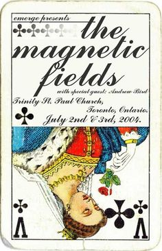 the magnetic fields gig posters   Band's posters / The Magnetic Fields concert poster by Remi A.