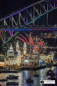 Vivid Sydney 2014 Great Places, Beautiful Places, Places To Visit, Sydney Australia, Australia Travel, Harbour Bridge, Travel Around The World, Around The Worlds, Islas Cook