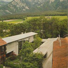peter zumthor architekt / wohnhaus und atelier zumthor, haldenstein