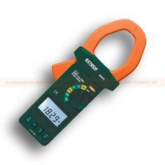 http://termometer.dk/effektanalysator-r12658/stromtang-magt-53-382075-r12670  Strømtang, magt  Viser strøm / forsinkelse, strøm / spænding faseskift i grader  Gem / hente sidste 5 aflæsninger  DC automatisk nulstillingsanordning  Dual skærme: PF kW, kVA kVAR, fasevinkel Hz V Hz eller ampere Hz  Advanced Relative og min / max-funktioner Garanti: 2 År