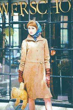 """""""We'll Take Manhattan"""": Karen Gillan as Jean Shrimpton"""