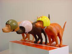 Roos & Chris Sculptures - Kakrace (pooprace) - 2005 - ceramics