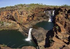Mitchell Falls, Beautiful Waterfalls, Round Trip, Salt And Water, Bing Images, Wildlife, Explore, Travel, Outdoor